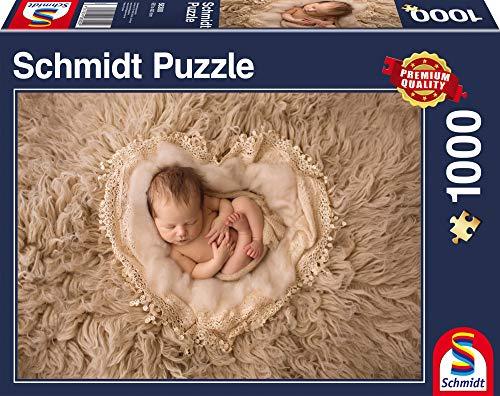 Schmidt Spiele Puzzle 58300 58300-Herzchen, 1.000 Teile Puzzle, bunt