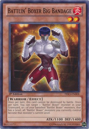 YU-GI-OH! - Battlin39; Boxer Big Bandage (PRIO-EN008) - Primal Origin - 1st Edition - Common