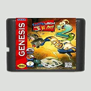 Earth Worm Jim 2 16 Bit Game Card For Sega Mega Drive & Sega Genesis