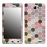 Disagu SF-106412_1204 Design Folie für Archos 50 Neon - Motiv Polygone 01