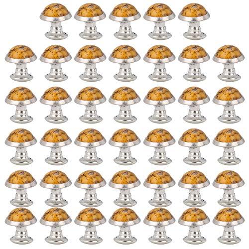 40st ronde turkoois klinknagel, 8mm snelle klinknagels studs knoppen metalen snelle klinknagel met gereedschap studs voor portemonnee, tassen, laarzen, lederen ambachten decoratie(number 8)