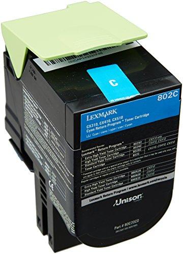 Lexmark 80C20C0 - Tóner de tinta
