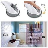 YoungRich Mobiler Badewannengriff Haltegriff mit Saugnäpfen mit Starken Sucker Hand Griff und Aufstehhilfe Sicherheitsgriff Bad Versorgung Balance für Bad Dusche WC Behelfshilfen Werkzeug 28 x 9 x7cm - 4