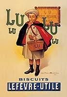 "Lu Lu Biscuits Fineアートキャンバス印刷( 20"" x30"" )"
