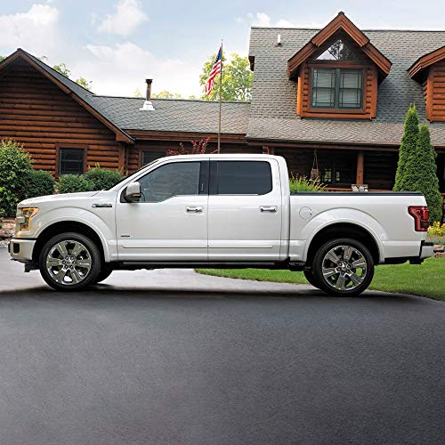 Dawn Enterprises CF-F15015-SCC Chromeline Body Side Molding Compatible with Ford...