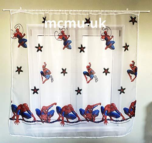 Disney Gardinen Spiderman 150 cm Breite x 150 cm Lange Kinderzimmer Vorhang Disney