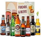 Cervezas del mundo tradicional degustación: Blue Moon, Corona, Paulaner, Heineken, Guiness, Voll Damm, Budweiser, Santa Monica I Ideas para regalar