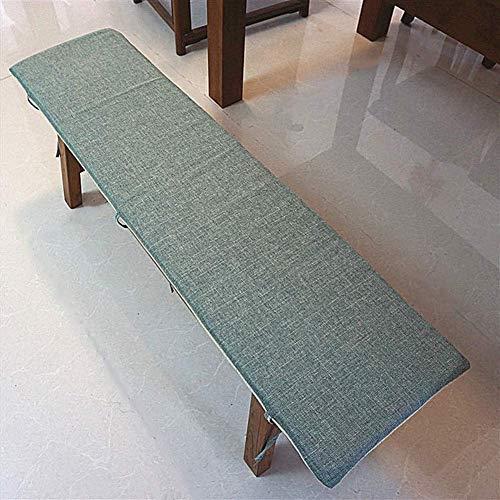 Thicken Rectangular Dining Chair Cushions, Patio Long Seat Cushion, Lace-up Non-slip Bench Cushion, Indoor Outdoor Sofa Cushion 23x33cm