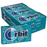 ORBIT Wintermint Sugarfree Chewing Gum, 14 Pieces (Pack of 12) from Orbit