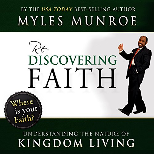 Rediscovering Faith audiobook cover art