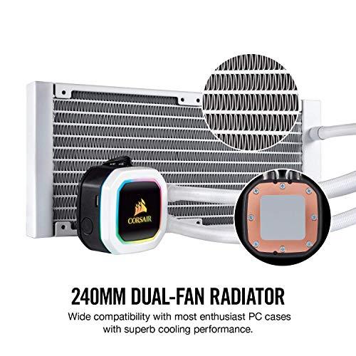 CORSAIR『HydroSeriesH100iRGBPLATINUMSE240mm水冷式CPUクーラー(CW-9060042-WW)』