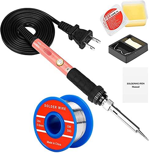 4-in-1 Adjustable Temperature Soldering Welding Iron Kit
