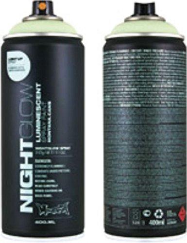 Montana Nightglow Lumineszenz Effekt Farbe 400 ml 2 Dosen ~ Packung mit Zwei