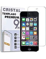 REY Protector de Pantalla para iPod Touch 5-6 y iPod 7 2019, Cristal Vidrio Templado Premium