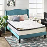 Spinal Solution 9-Inch Medium Firm Foam Encased Pillowtop Pocketed Coil Innerspring Fully Assembled Mattress, Good For The Back Queen