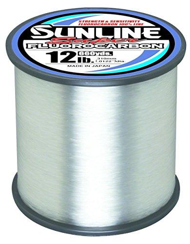 Sunline 63035884 Super Fluorocarbon 12 Lb. Super Fluorocarbon, Clear,...