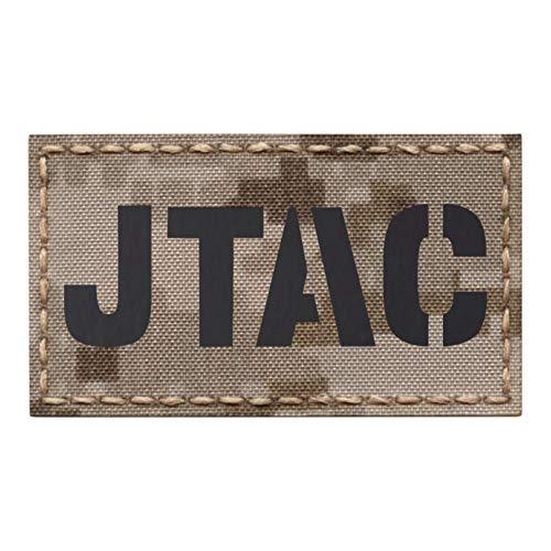 IR JTAC Digital Desert MARPAT Joint Terminal Attack Controller Air Support FAC Infrared 2x3.5 Tactical Morale Fastener Patch