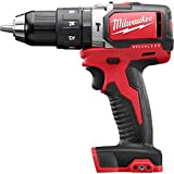Milwaukee M18 18V 1/2-Inch Compact Brushless Hammer Drill Driver (2702-20) (Bare Tool Only - Battery, Charger and Accessories Not Included)