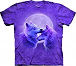 Wolf Kids Shirt Tie Dye Loving Wolves T-shirt Tee Youth