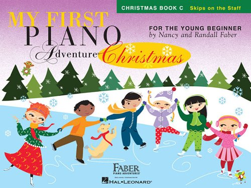 My First Piano Adventure Christmas - Book C: Skips on the Staff