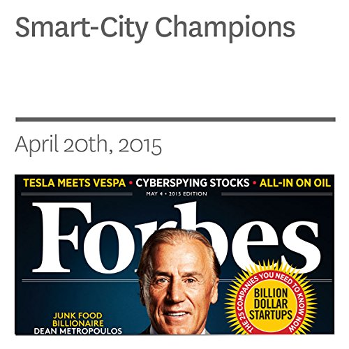 Smart-City Champions audiobook cover art