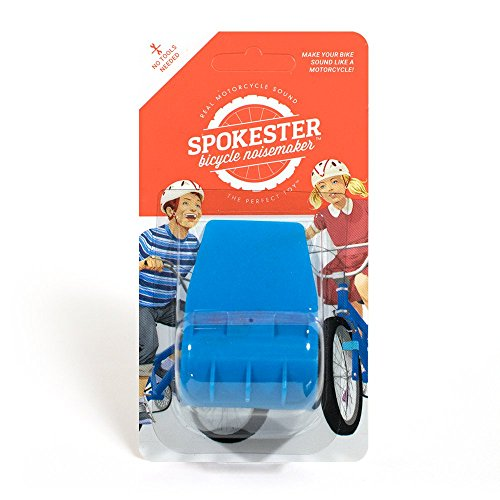 SPOKESTER Bicycle Noise Maker - Makes Your Bike Sound Like a Motorcycle