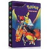 GUBOOM Álbum de Pokemon, Álbum Titular de Tarjetas Pokémon, Tarjetero Pokémon, Protector Cartas Pokemon, fundas para cartas pokemon Hasta 240 Tarjetas Capacidad (Ash Charizard)
