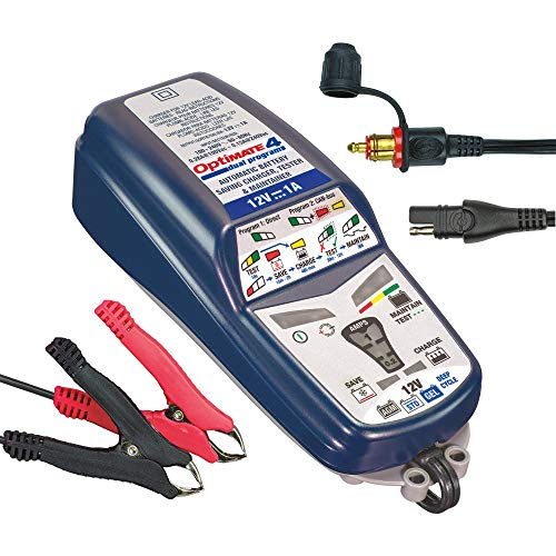 OptiMATE 4 CAN-bus edition, TM-351 8/9-step 12V 1A battery Saving charger-tester-maintainer