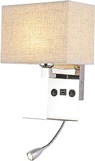 Adlereyire Applique Murale, Luminaire Éclairage Intérieur de Conception Moderne, Créatif Veilleuse Lampe de Mur pour Salon...