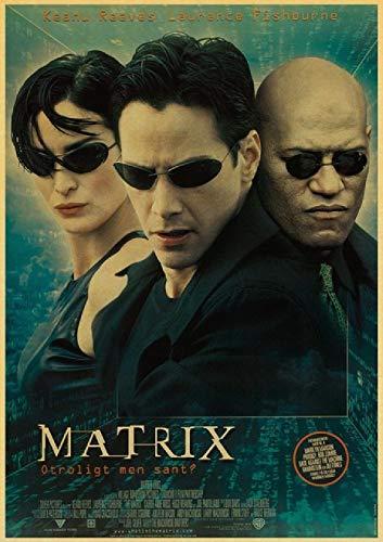 Rompecabezas de 1000 piezas para adultos y niños The Matrix Keanu Reeves Neo T5 29.5 x 19.6 pulgadas (75 x 50 cm) intelectual descomprimido rompecabezas sin marco