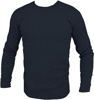 Maglia uomo maglietta girocollo maniche lunghe sottogiacca felpata TOOCOOL F3235