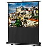 celexon Ultramobil Plus Professional - Schermo per videoproiettore, portatile con giunto a forbice, 160 x 120 cm, 4:3, Gain 1,2