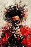 The Weeknd The Weeknd Poster Blechschild Metallschild
