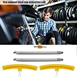 Langlebiges Motorrad-Reifeneisen, bequemer Felgenwechsel Einfach zu verwendendes Schutzventil-Reifenentferner-Befestigungswerkzeug