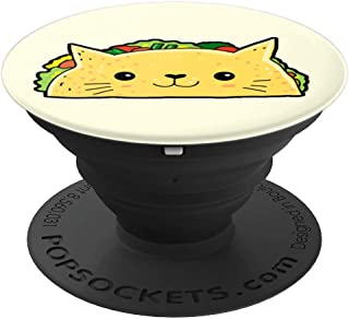 99aac08b93 Cat Pop-Socket Food Kitty Lover Taco Cat Mom Dad Gift - PopSockets Grip and