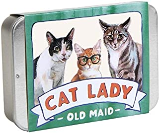 Chronicle Books Cat Lady Old Maid (Cat Gifts for Cat Lovers, Cat Themed Card Game)