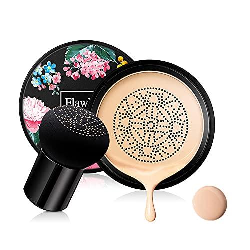 Mushroom Head Air Cushion CC Cream Foundation Cover Correcteur Maquillage Hydratant Shine Pigment Fond de Teint Liquide, Même Teint de Peau BB Foundation #Naturel