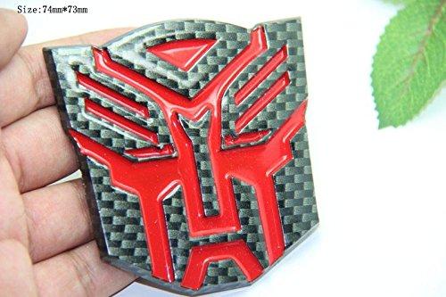 B148 Transformers auto aufkleber 3D Emblem Badge Abzeichen Schriftzug car Sticker Abziehbild