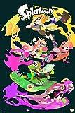 Pyramid America Splatoon Character Stack Nintendo Cool Wall Decor Art Print Poster 12x18