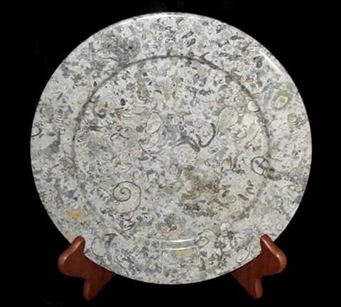Khan Imports Decorative Coral Stone Plate, Traditional Coral Gift for 35 Year Wedding Anniversary
