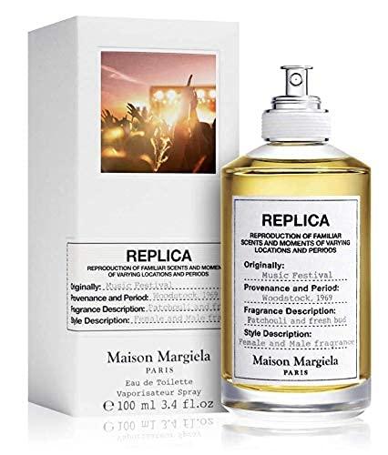 100% auténtico Maison Margiela Replica Music Festival 100ml edt + 3 muestras de nicho - Gratis
