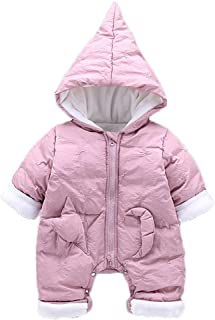 Fairy Baby Toddler Winter Unisex Cartoon Costume Romper Hood Jumpsuit Outwear Snowsuit