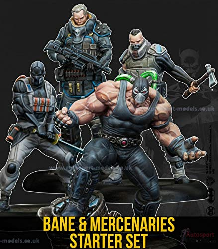 Knight Models Batman Miniature Starter Set - Bane & Mercenaries