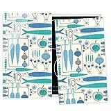 Bilderwelten Universal Placa vitrocerámica Campo de inducción Fisherman Friends Blue 52x60cm