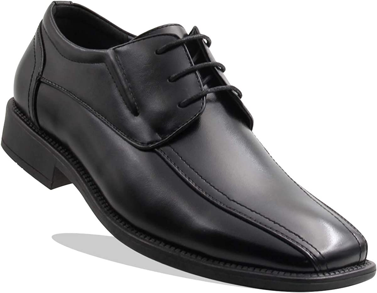 Fees free!! Men's 4 years warranty Elegant Front Thick Lace Oxford Shoes up