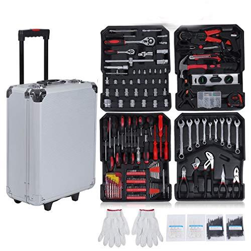 616 tlg Werkzeugkoffer Werkzeugkasten...
