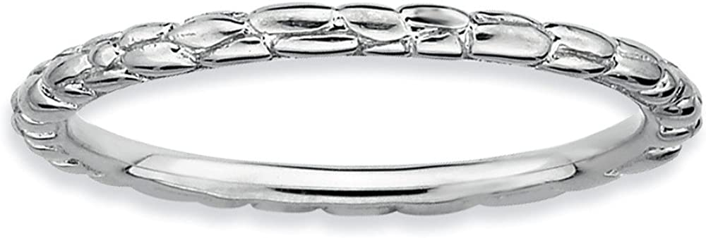 Jewels By Lux Sterling Silver Stackable Store Rhodium All stores are sold Twis Expressions