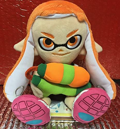 xuritaotao Little Buddy Splatoon 2 Weibliches Mädchen Orange Inkling Plüschpuppe Authentic