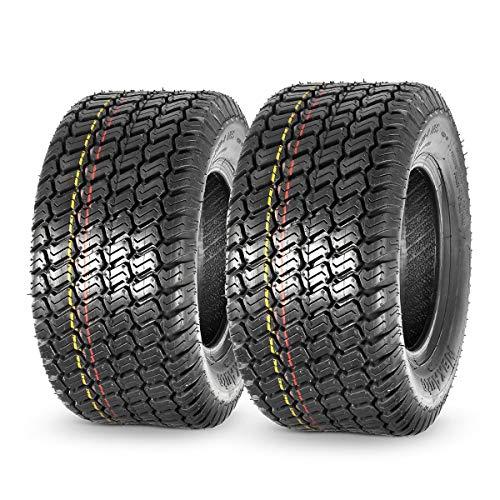MaxAuto 16x7.50-8 16x7.5x8 Turf Saver Lawn Mower Tire 4PLY, Set of 2