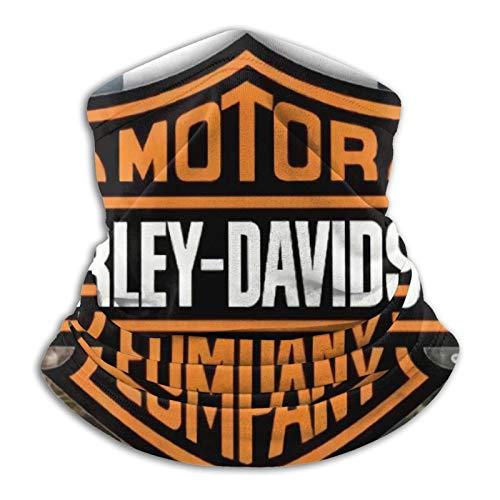Harley Davidson Bann Multifunzionale Copricapo Bandana Tubo Elastico Fascia Resistenza UV Headwrap per Correre Equitazione Escursionismo Yoga Sport